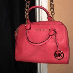 Coral Pink MK bag